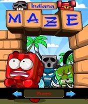 Maze Indiana Скачать бесплатно игру Лабиринт индиана - java игра для мобильного телефона