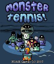 Monster Tennis Скачать бесплатно игру Монстр теннис - java игра для мобильного телефона