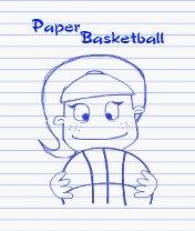 Скачать бесплатно игру Paper Basketball - java игра для мобильного телефона. Скачать Баскетбол на бумаге