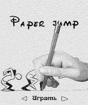 Paper Jump Скачать бесплатно игру Прыжки на бумаге - java игра для мобильного телефона