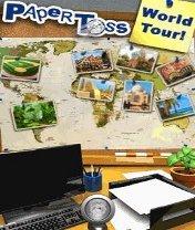 Paper Toss: World Tour Скачать бесплатно игру Бросать бумагу: Мировое турне - java игра для мобильного телефона