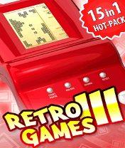 Retro Games 3 15 in 1 Hot Pack Скачать бесплатно игру Ретро игры 3: 15 в 1 - java игра для мобильного телефона
