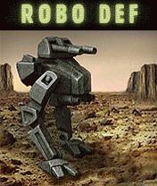 Скачать бесплатно игру RoboDef - java игра для мобильного телефона. Скачать Рободеф