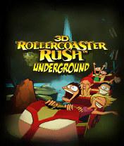 Rollercoaster Rush Underground 3D Скачать бесплатно игру Американские горки 3D: Под землей - java игра для мобильного телефона