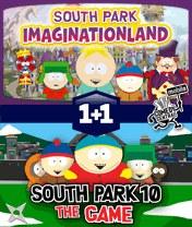 South Park Pack: Double Trouble Скачать бесплатно игру Южный парк: Двойная проблема - java игра для мобильного телефона