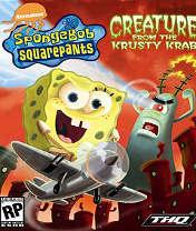 Скачать бесплатно игру Sponge Bob: Creature From The Krusty Krab - java игра для мобильного телефона. Скачать Губка Боб: Создание из красти краба