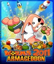 Скачать бесплатно игру Worms 2011: Armageddon - java игра для мобильного телефона. Скачать Червячки 2011: Армагеддон