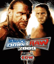 Скачать бесплатно игру WWE SmackDown vs. RAW 2009 - java игра для мобильного телефона. Скачать Рестлинг 2009