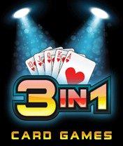 Скачать бесплатно игру 3 in 1 Card Games - java игра для мобильного телефона. Скачать Карточные игры 3 в 1