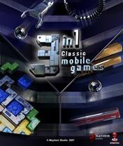 3 in 1 Classic Mobile Games Скачать бесплатно игру 3 в 1 Классические мобильные игры - java игра для мобильного телефона