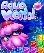 Скачать бесплатно игру Aqua World - java игра для мобильного телефона. Скачать Водный мир