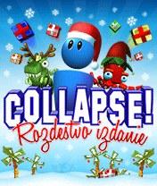 Скачать бесплатно игру COLLAPSE! Xmas - java игра для мобильного телефона. Скачать Коллапс: Рождественское издание