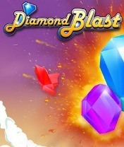 Diamond Blast Скачать бесплатно игру Алмазный водопад - java игра для мобильного телефона