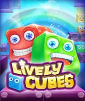 Lively Cubes Скачать бесплатно игру Живые кубики - java игра для мобильного телефона