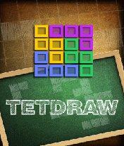 Скачать бесплатно игру TetDraw - java игра для мобильного телефона. Скачать Тет Рисование