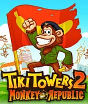 Скачать бесплатно игру Tiki Towers 2 Monkey Republic - java игра для мобильного телефона. Скачать Тропические башни 2: Республика обезьян