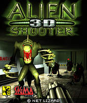 Скачать Alien Shooter 3D +Touch Screen бесплатно на телефон Убей чужих 3D +Touch Screen - java игра