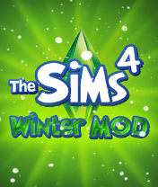 The Sims 4 Winter Mod Скачать бесплатно игру Симс 4: Зимний МОД - java игра для мобильного телефона