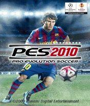 PES 2010 Скачать бесплатно игру Pro Evolution Soccer 2010 - java игра для мобильного телефона