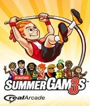 Скачать бесплатно игру Playman: Summer Games 3 - java игра для мобильного телефона. Скачать Плеймен: Летние игры 3