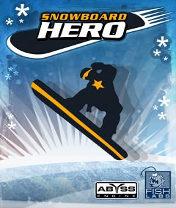 Snowboard Hero Скачать бесплатно игру Герой сноуборда - java игра для мобильного телефона