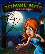 Скачать бесплатно игру Zombie Mob Defense - java игра для мобильного телефона. Скачать Защита от зомби